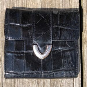 🆕List! Fossil Crocodile Tri-Fold Wallet! GUC!